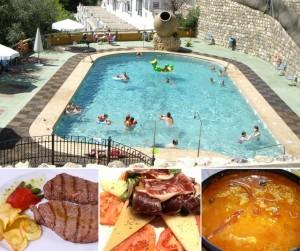 Restaurante+piscina Abrasador El Cercado