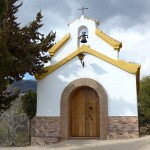 The small church of Santa Rita outside the village of Cadiar