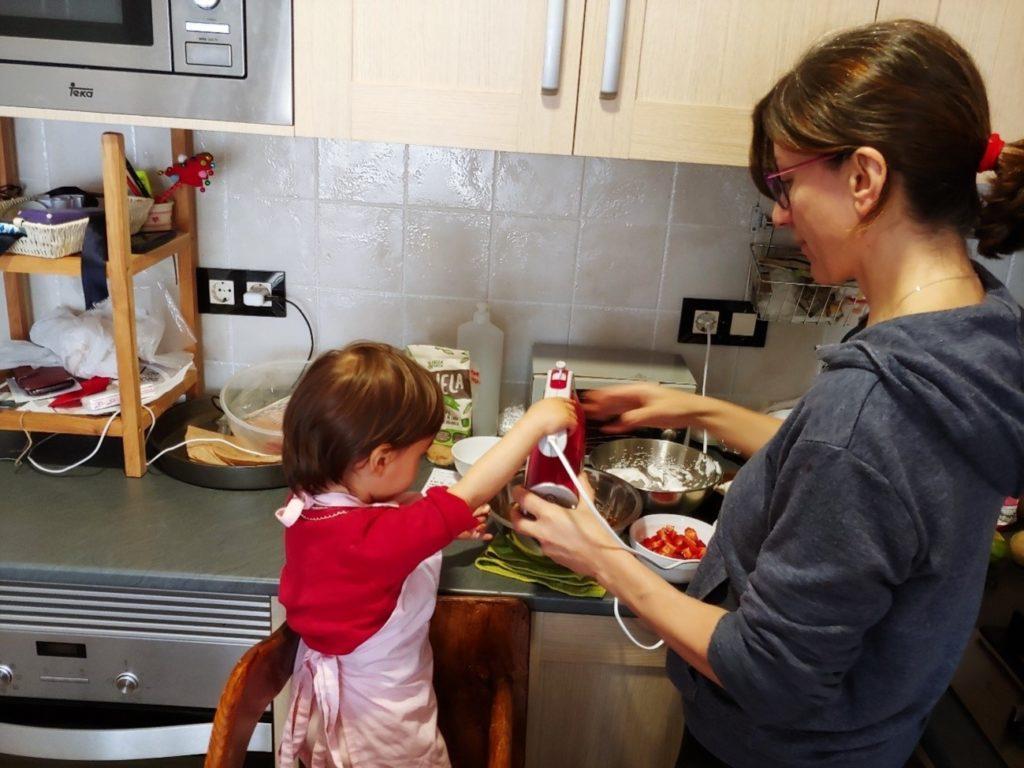 Toda ayuda en la cocina es magnífica